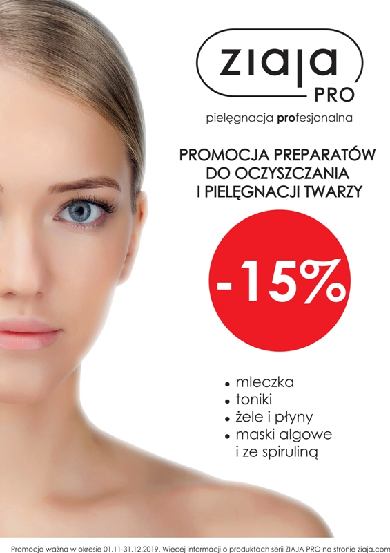 -15% w sklepie Ziaja dla Ciebie!