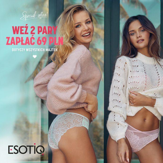 Nowa promocja w salonach ESOTIQ!