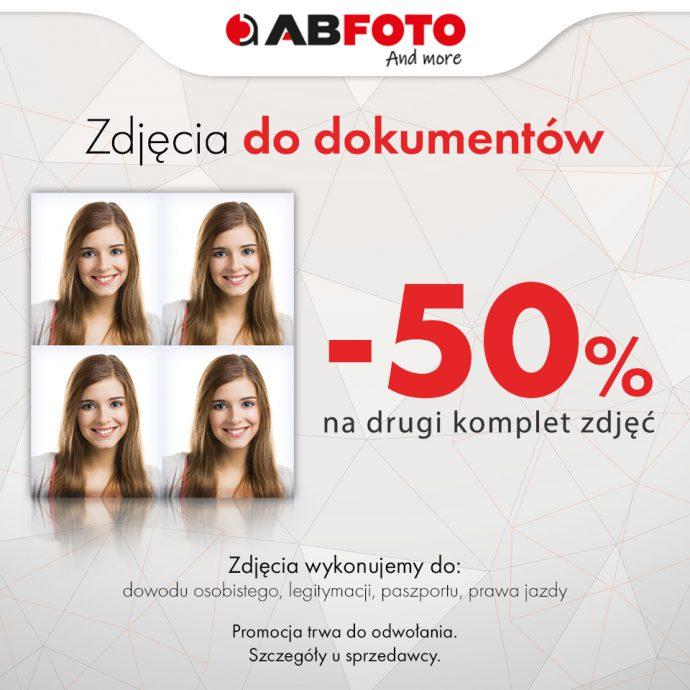 Zdjęcia do dokumentów -50%!