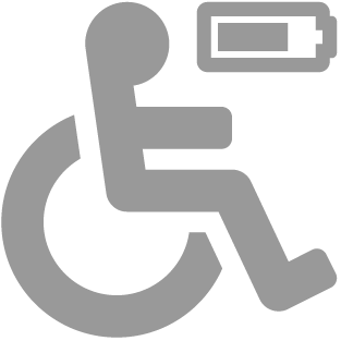 Stacja ładowania wózków inwalidzkich