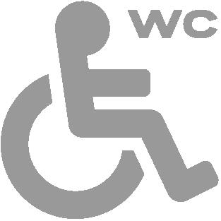 Toaleta dla osób niepełnosprawnych