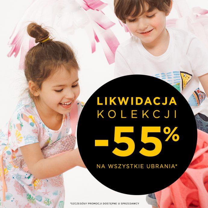 -55% na wszystkie ubrania!