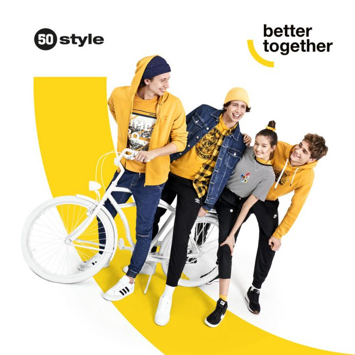 Najnowsza kolekcja w 50 style! Better together !