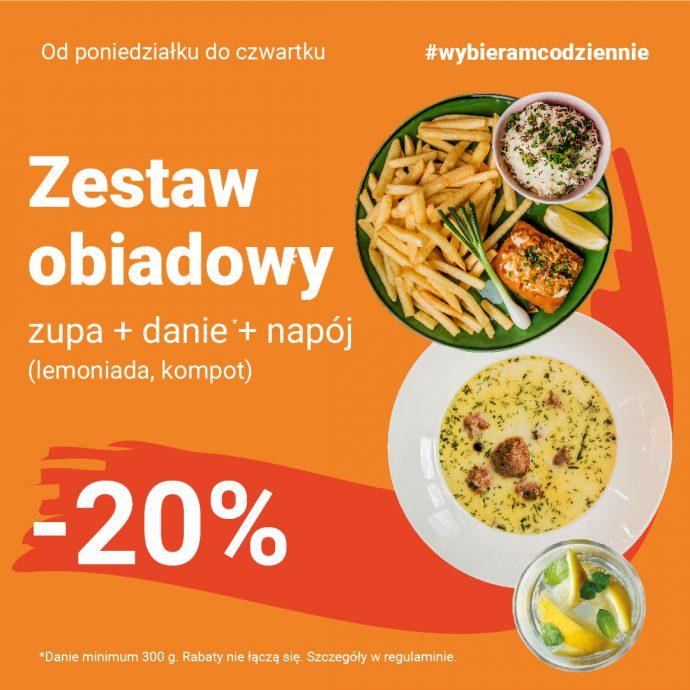 Każdego dnia w restauracjach Olimp możesz jeść i jednocześnie oszczędzać!