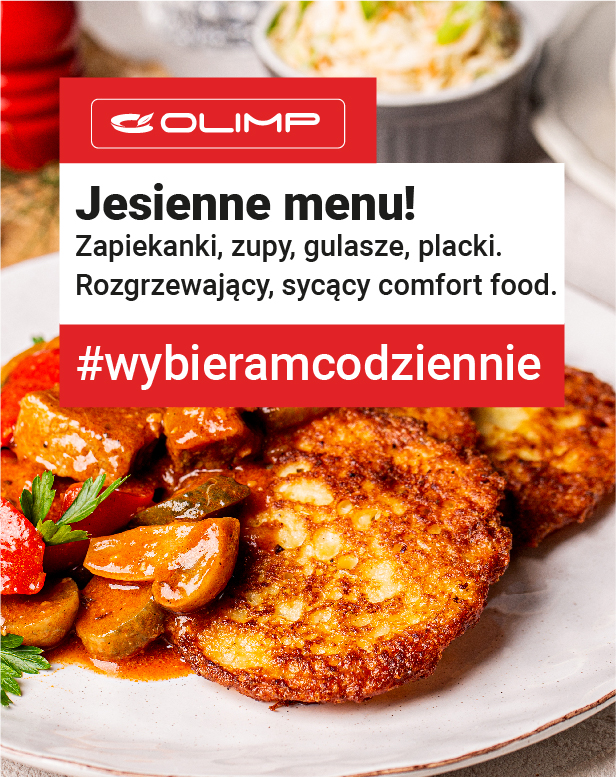 Nowe, jesienne menu w restauracji Olimp!